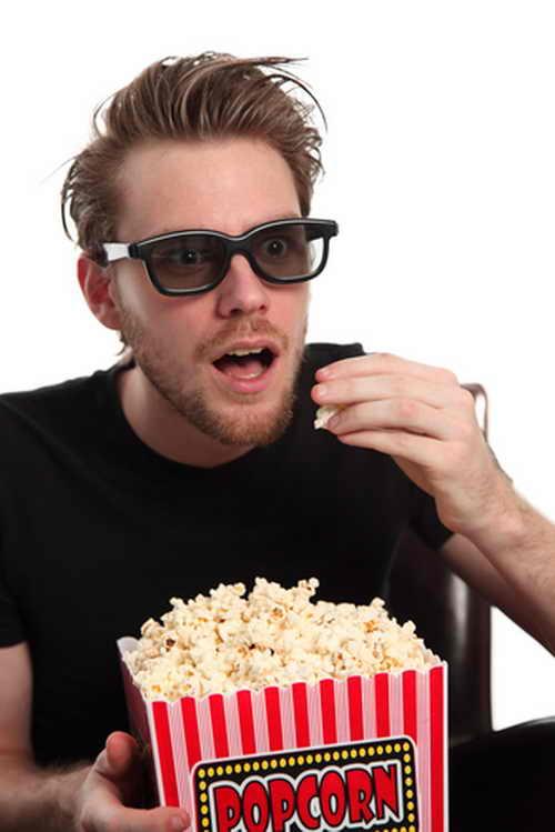 Просмотр 3-D фильма. Фото: Shutterstock*