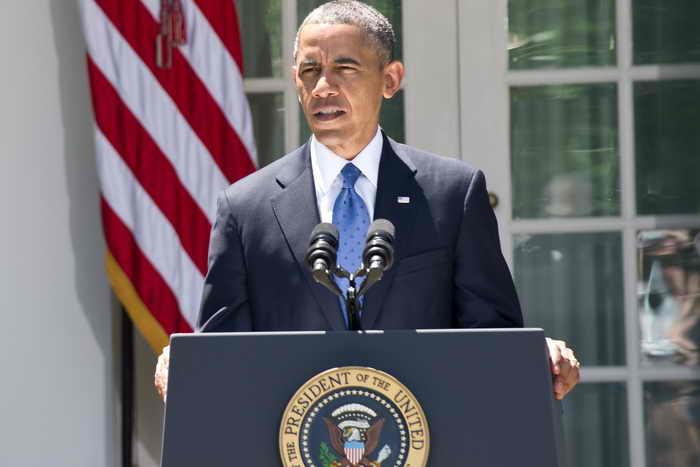 Барак Обама распорядился выделить помощь страдающей от засухи Калифорнии. Фото: SAUL LOEB/AFP/Getty Images