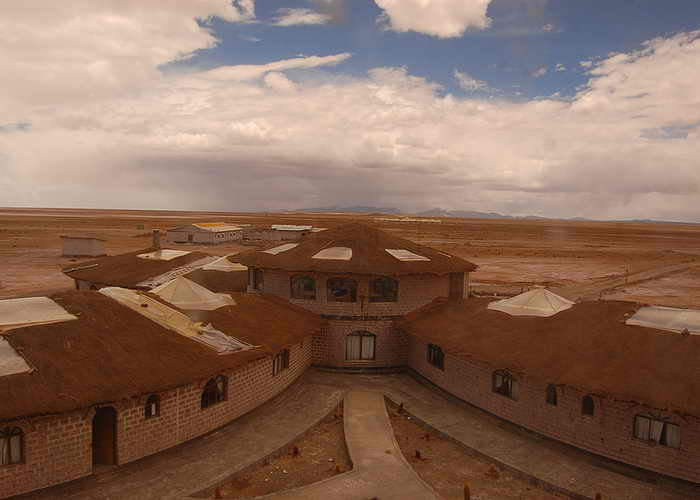 Боливия. Солянной отель. Фото: Sean Koik/flickr.com