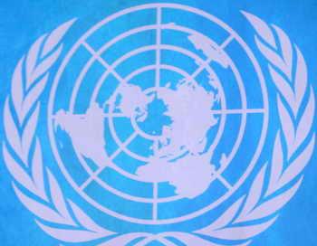 ООН приравняла обстрел российского посольства в Сирии к теракту.  Одновременно члены ООН выразили своё сочувствие семьям пострадавших в этом террористическом акте. Фото: MARWAN NAAMANI/AFP/Getty Images