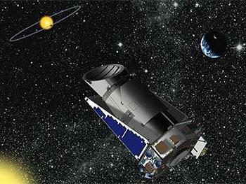 «Кеплер» в поисках обитаемых планет. Фото с img.lenta.ru