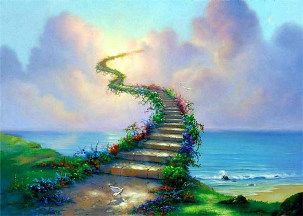 Чем выше мы поднимаемся в своём духовном восхождении, тем проще становится это делать, и тем ярче видна цель. Фото: prestigenews.tistory.com