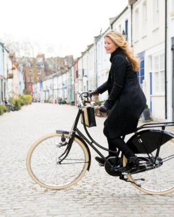 Короткие прогулки на велосипеде повышают настроение и улучшают здоровье. Фото: Richard Boll/Getty Images