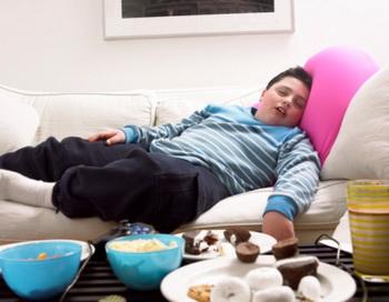 Детское ожирение - тревожный звонок атеросклероза. Фото: Digital Vision/Getty Images