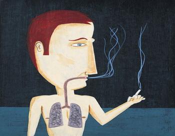 Курение является одним из основных факторов риска преждевременной смерти, которые люди добровольно добавляют ко всем остальным. Фото: Chris Andrews/Getty Images