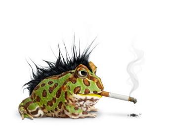 Курильщики рискуют стать шизофрениками. Фото: American Images Inc/Getty Images