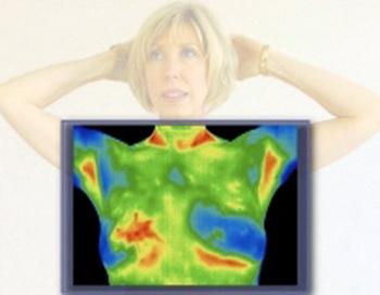 При термографии температура поверхности тела сканируется датчиками, а после оцифровки предстает в виде изображения. Фото: info.nihadc.com