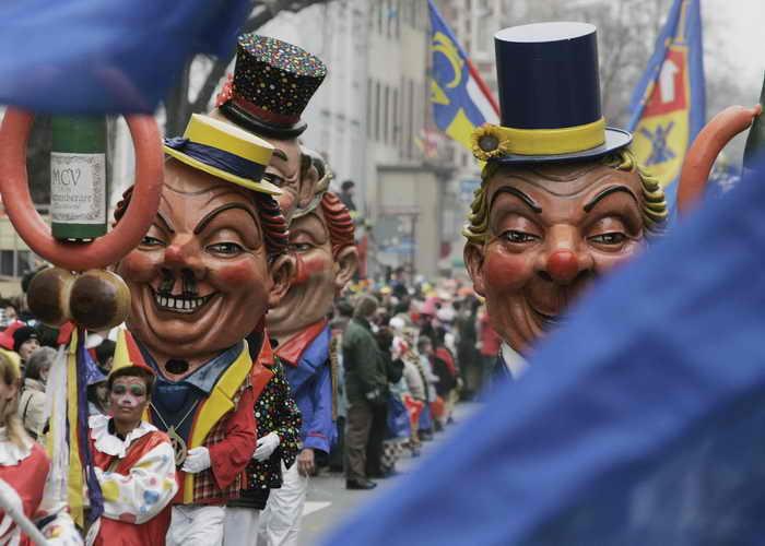 Кукольный карнавал. Фото: Ralph Orlowski/Getty Images
