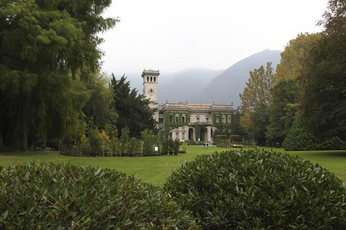 Выставка садоводства и ландшафтного дизайна Orticolario 2013 начала свою работу в парке Виллы Эрба, расположенном на берегу озера в итальянском городе Комо, 4 октября 2013 года. Фото: Marco Luzzani/Getty Images