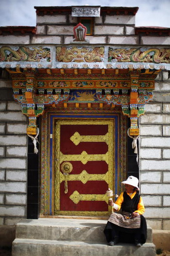 Жительница Лхасы. Фото: Feng Li/Getty Images