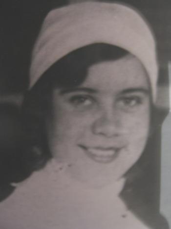 Вера Андриановна в годы войны. Фото из семейного архива.