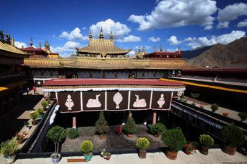 Храм Большой Чжу ( Джонгханг). Фото: Feng Li/Getty Images