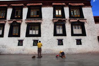 Стена храма Большого Чжу. Фото: Feng Li/Getty Images