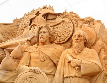 Международный Фестиваль скульптуры из песка. Фото: Анатолия БЕЛОВА/Великая Эпоха