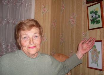 Новые увлечения Людмилы Андреевны - художественная вышивка. Фото: Великая Эпоха