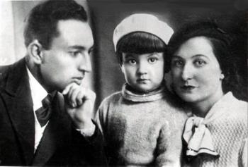 Принцесса Умо с родителями. Фото из семейного архива.