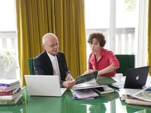 Гармония Инь Янь: они не только супруги, но еще и сотрудники. Фото: Stofanel Investment AG