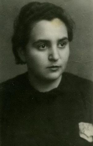 Маша в 1945 году.