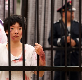 За свои убеждения она была несколько раз приговорена к заключению в тюрьме. Фото: