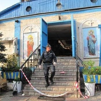 Взрыв церкви в Запорожье. Фото:reporter.zp.ua
