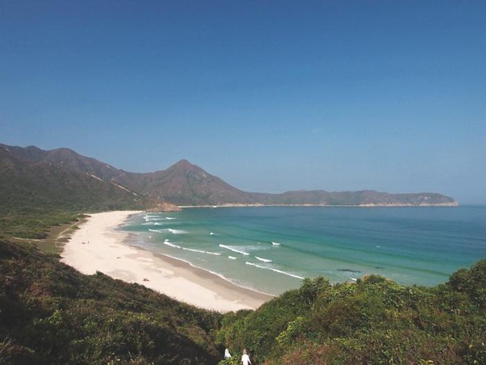 Туристический пляж: Тай Лун Вань в Сай Куне. Фото предоставлено Martin Williams
