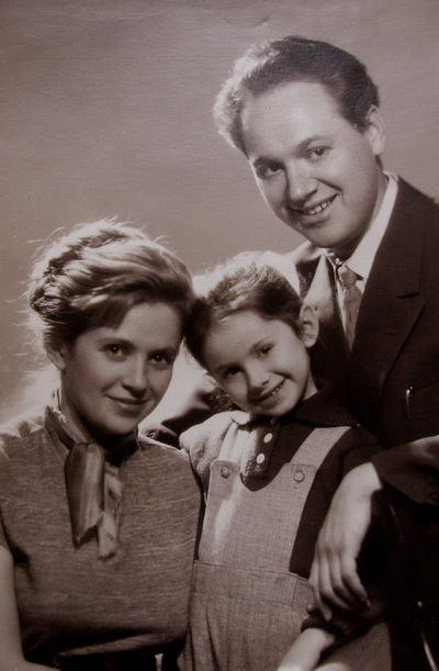Лариса Александровна и Федор Миронович Лясс. Фото из семейного альбома.