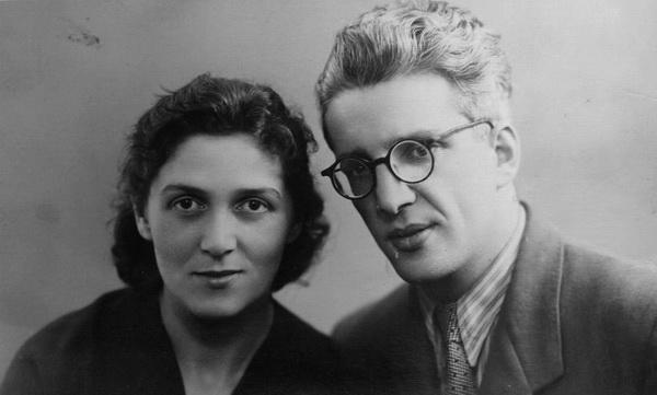Кегелес Лев и Лиля в молодости. Фото из семейного альбома.