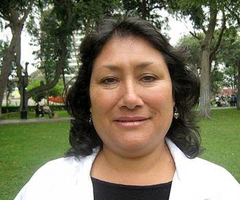 Кармен Ганоза, Лима, Перу.
