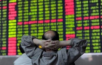 Китайский инвестор проверяет рынок акций ценных бумаг в Хэфэе, восточно-китайской провинции Аньхой 23 мая 2011. Фото: STR /AFP /Getty Images