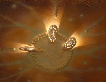 Портал - переход, акрил, керамика, 2005 год. Фото:         Ульяна КИМ. Великая Эпоха (The Epoch Times)