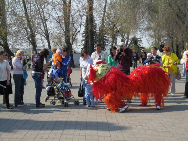 День Фалунь Дафа в Иркутске. Фото: Великая Эпоха (The Epoch Times)