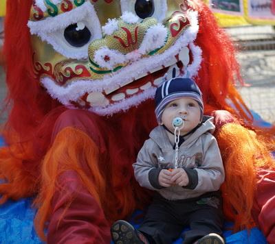 День Фалунь Дафа в Иркутске. Фото: Николай Ошкай/Великая Эпоха (The Epoch Times)