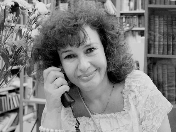 Клара Эльберт, директор русской библиотеки в Иерусалиме. Фото: Хава ТОР/Великая Эпоха