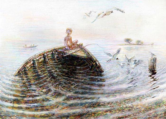 картина старый рыбак где находится