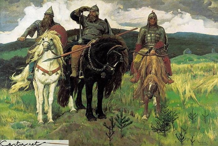 В. М. Васнецов «Три богатыря»