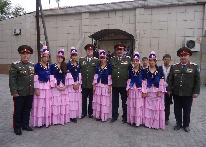 Приезд атамана и членов Правления войска на 99-летие г. Кызыла – столицы Республики Тыва. Фото предоставлено Мариной Жуйковой