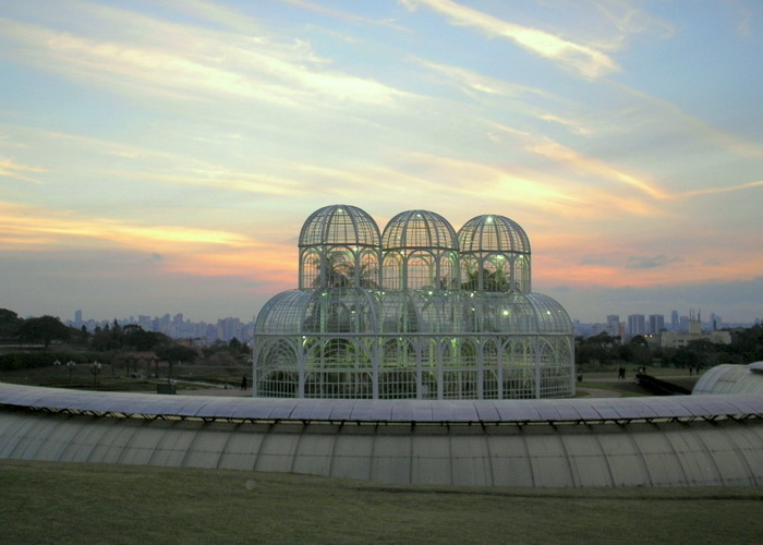 Ботанический сад, город Куритиба, Бразилия. Фото: SamirNosteb/Commons.wikimedia.org