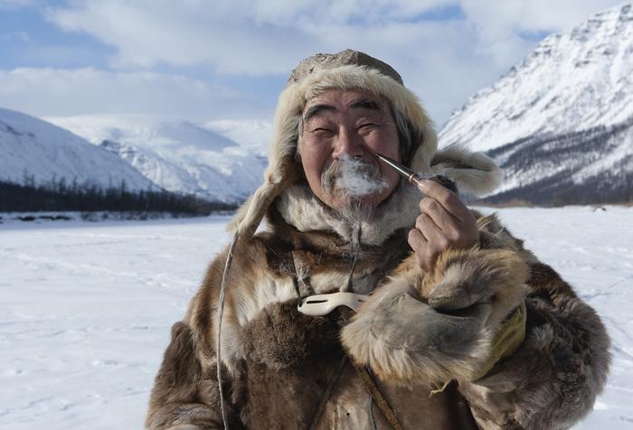 «Сын седых вершин»: работа, отмеченная Золотой медалью международного фотоконкурса северных и Арктических фотографий Global Arctic Awards 2012. Фото: Михаил Вершинин