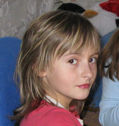 12-летняя таганроженка Виктория Дмитриенко. Фото предоставленно отцом девочки
