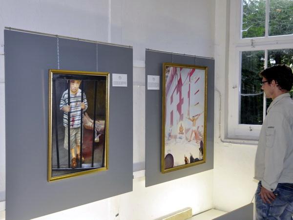 В Швейцарии проходит международная художественная выставка «Истина Доброта Терпение». Фото: Николай Богатырев