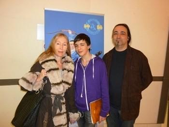 Джим Монфор и Ева Леандр на шоу Shen Yun в Конгресс-холле в Париже 12 марта 2011 г. Фото: Siao Yong /Великая Эпоха
