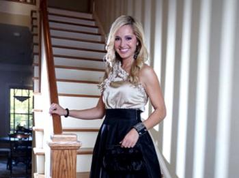 Mисс США Джессика Блак приняла участие в творческом вечере, посвященному поддержке Shen Yun Performing Arts. Фото: projects.accessatlanta.com