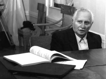 Исаак Шварц. Фото с сайта Санкт-Петербургской филармонии