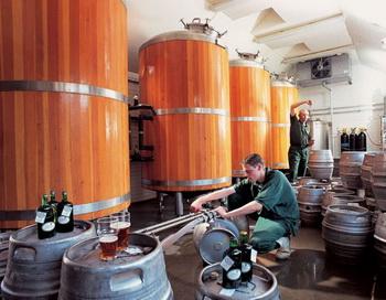 Одна из частных семейных пивоварен Европы. Фото с burgermeister.ru