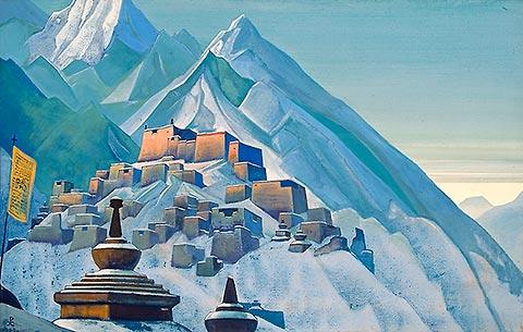 Тибет. Гималаи (Музей Николая Рериха, Нью Йорк)