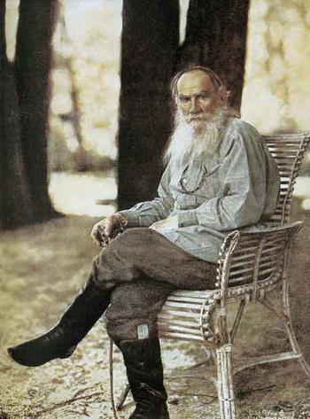 Лев Толстой: Недеяние. Фото с сайта polotsk.land.ru