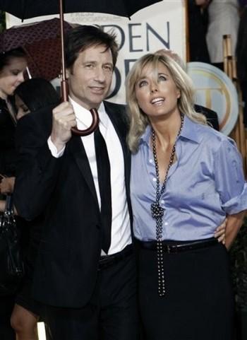 Дэвид Духовны и Тea Леони. Фото с сайта livestory.com.ua