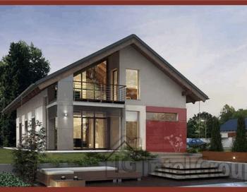 Коттеджные дома по канадской технологии. Фото с сайта http://www.doma-karkas.ru/