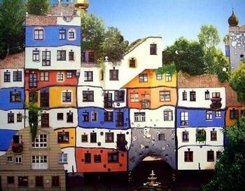 Дом Хундертвассера в Вене. Фото с сайта www.archandarch.ru