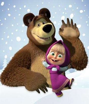 Мультсериал Маша и Медведь. Фото с сайта http://multmult.ru/masha-i-medved/